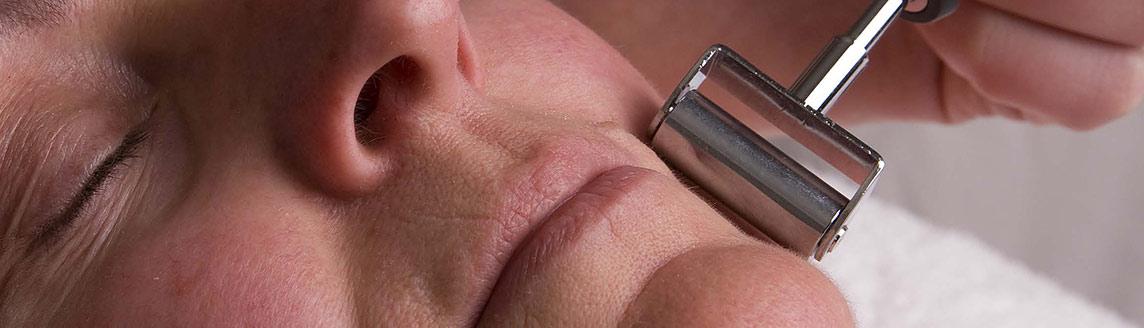 Detail huidbehandeling